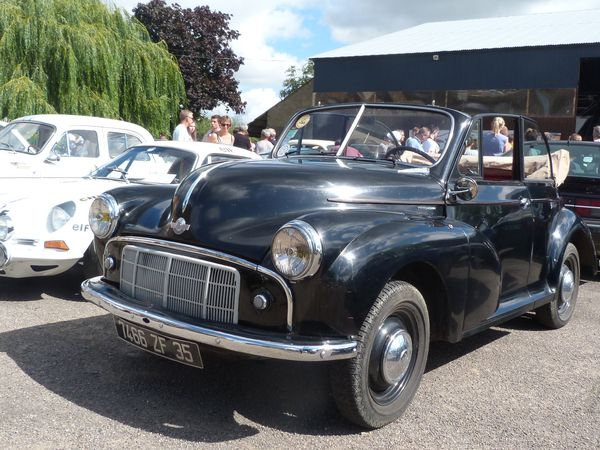 Gros plan: Morris Minor cabriolet