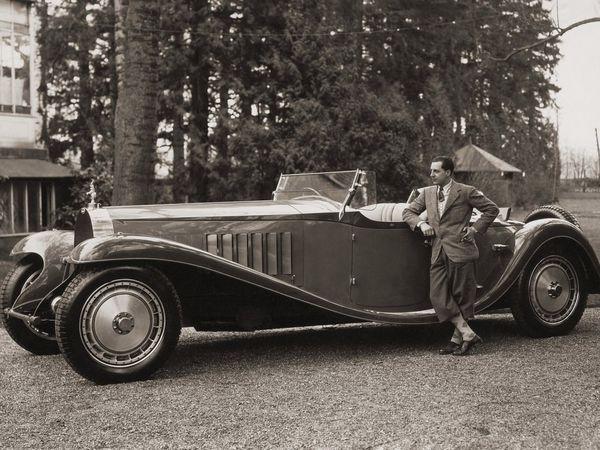 Bugatti Royale en balade