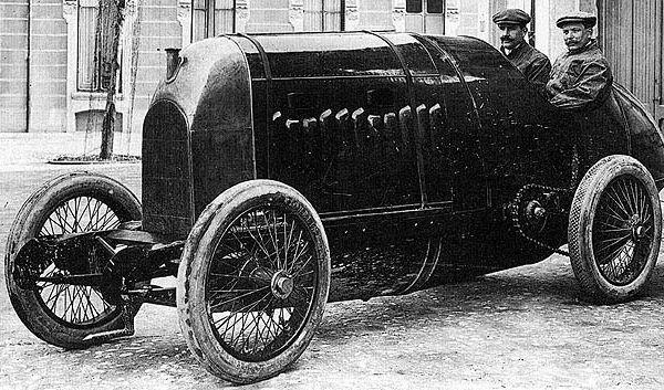 Fiat S.76 de 1911 remise en route 100 après