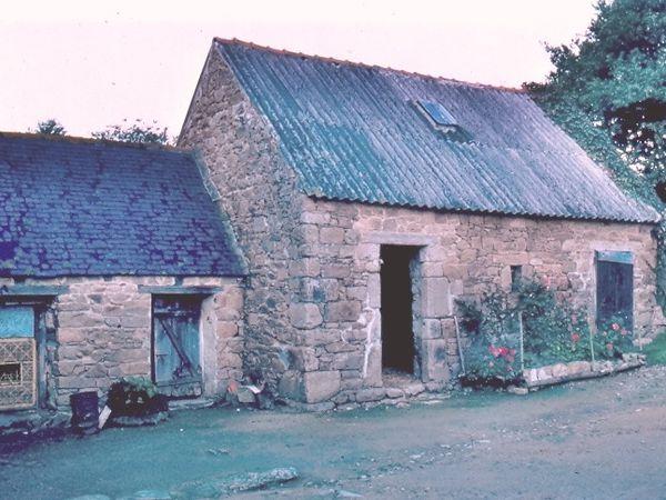 Le moulin Bellec dans les années 1980