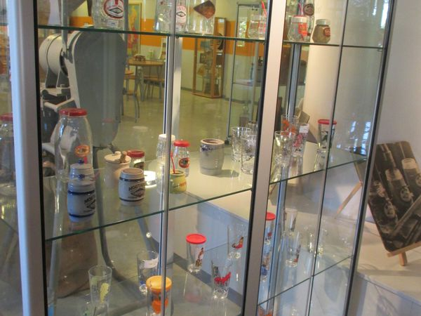 Petit musée dans l'entreprise et dégustation des produits