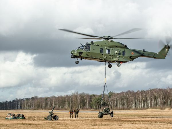 Les NH90 testent leur puissance