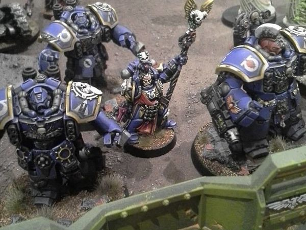 Revival Maccrage... Ultramarines vs Tyranides