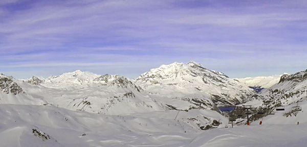Sur les pistes de Val d'Isère