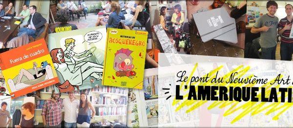 8em Festival de la BD de Lyon, 15 et 16 juin , La BD argentine !
