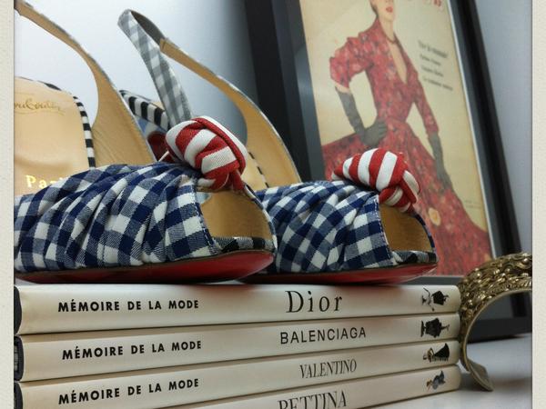 De l'importance des accessoires (et des chaussures, bien sûr) !