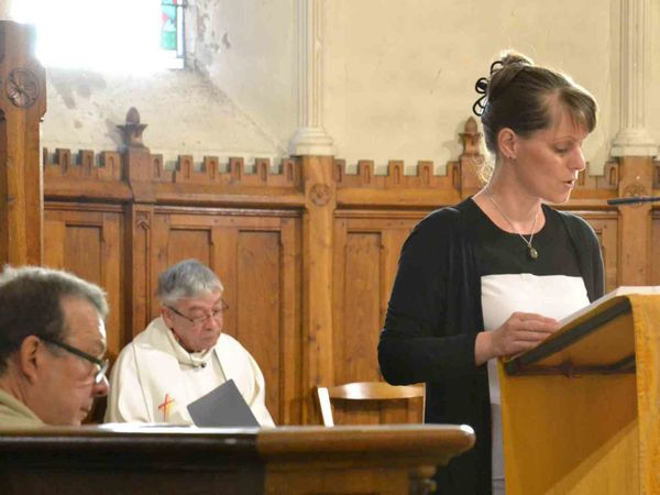 Profession de foi à Bligny sur Ouche : La Cérémonie
