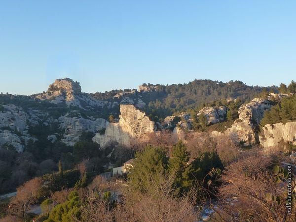Quelques rochers du Val d'Enfer (Les Baux-de-Provence)