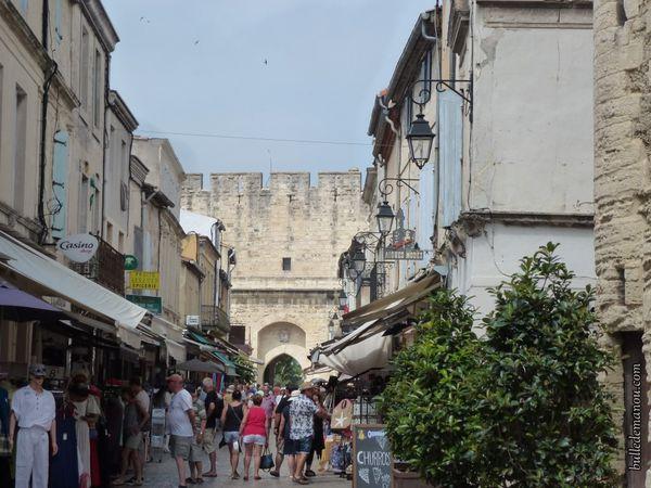 La rue principale touristique...