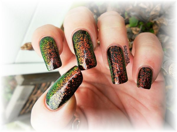 vernis kleancolor chunky holo poppy