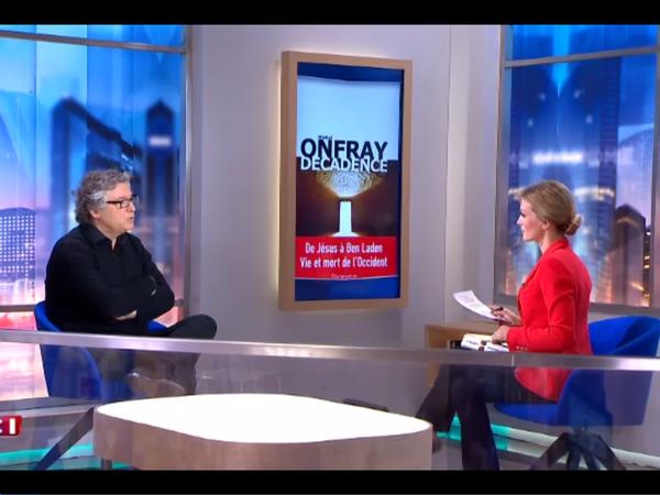 Michel Onfray - L'invité de 8h45 (LCI) - 11.01.2017 - &quot&#x3B;Décadence&quot&#x3B;