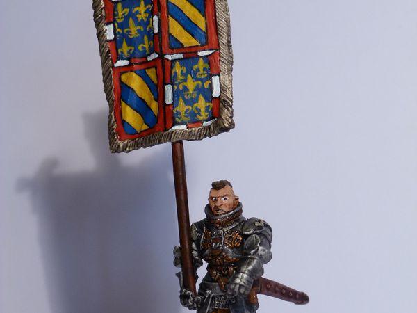 Les armoiries de mon armée...