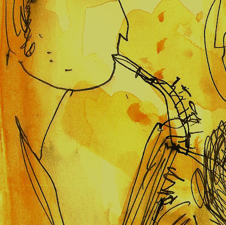 (cliquer sur les dessins pour faire vibrer la nuit  jazzy et dérouler le diaporama)