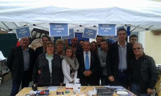 Succès pour le stand FN lors de la braderie de Beuvry