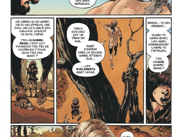 The Goddamned tome #1, le preview !