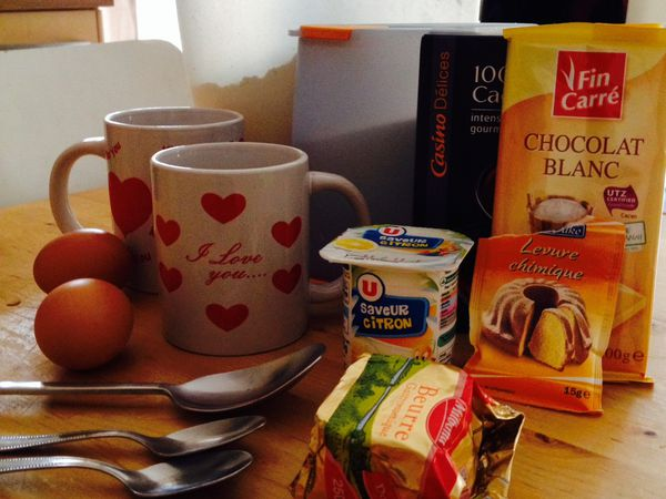 la vie d'un mug cake