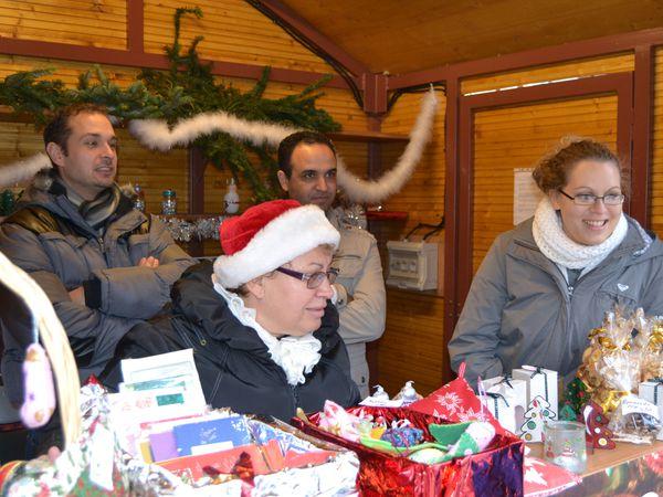 Au marché de Noël!