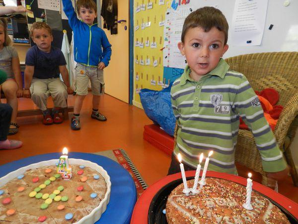 Romain a 4 ans!