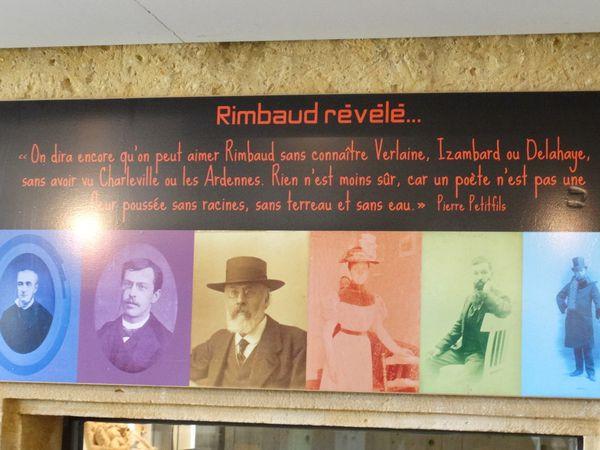 Visite de l'Espace Rimbaud à Charleville