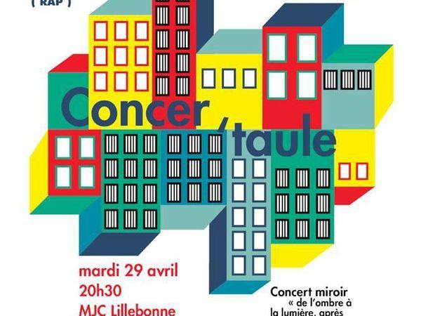 Concer'Taule - 29 avril à 20h30 - MJC Lillebonne