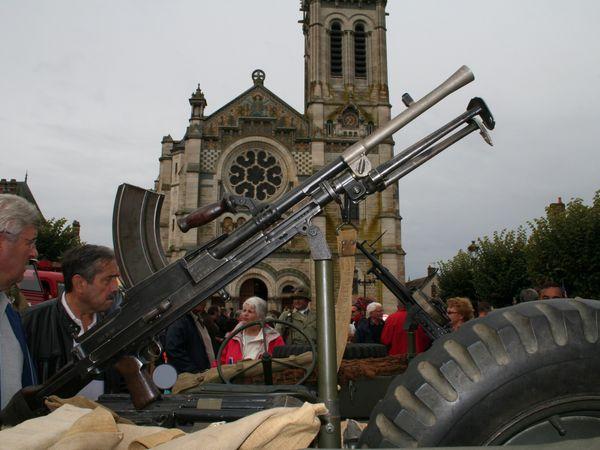 Dans les rues de Briare libérées 70 ans aprés