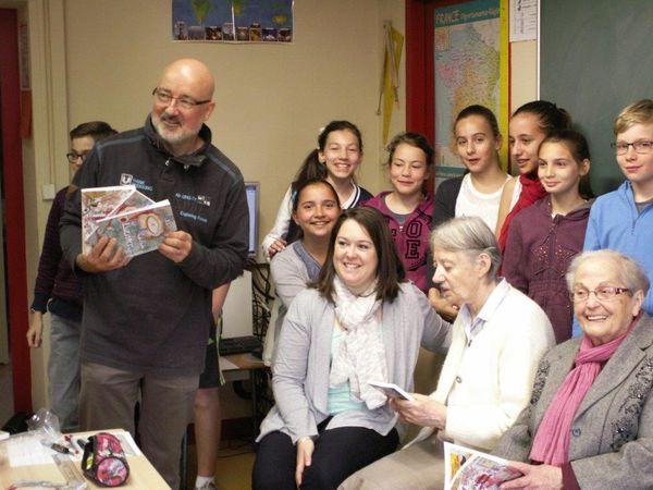 Rencontre CM2 - Personnes âgées : découverte du livre