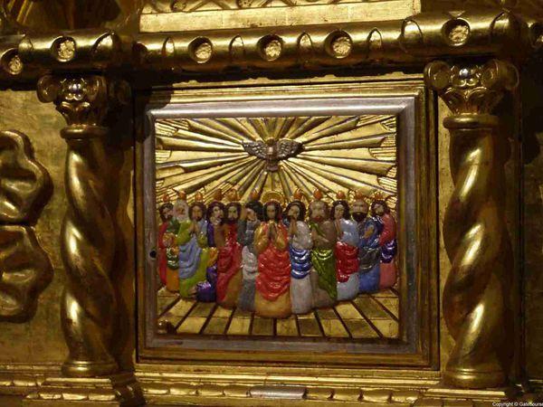 L'église Santo Domingo resplendit de ses dorures