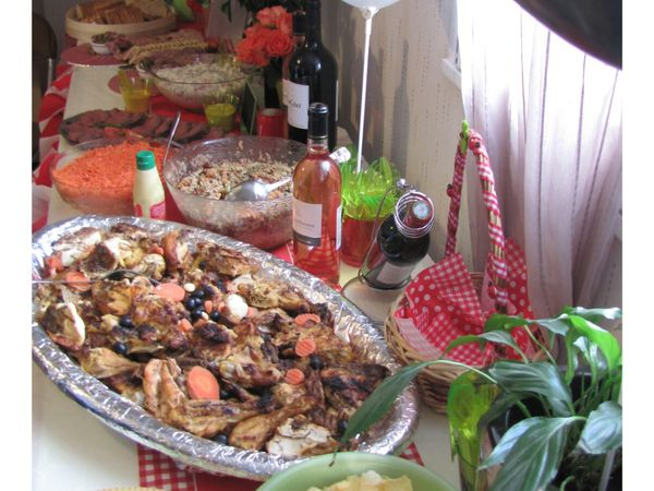 Le buffet....