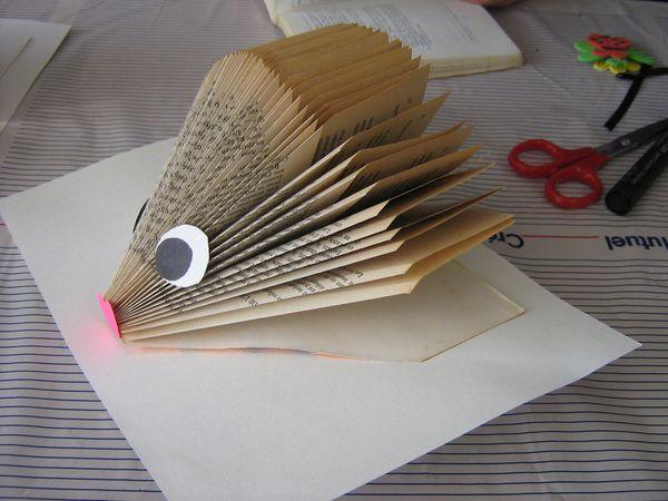 Ou alors les livres se transformaient en souris !