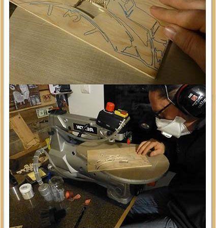 Making of de la découpe de la montre Panerai
