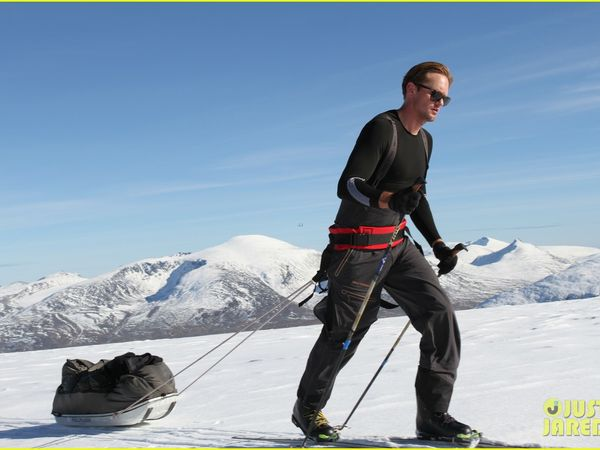 Alexander Skarsgard : South Pole Allied Challenge
