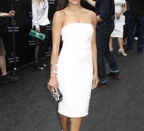 Kat Graham lors de la Fashion Week de NY