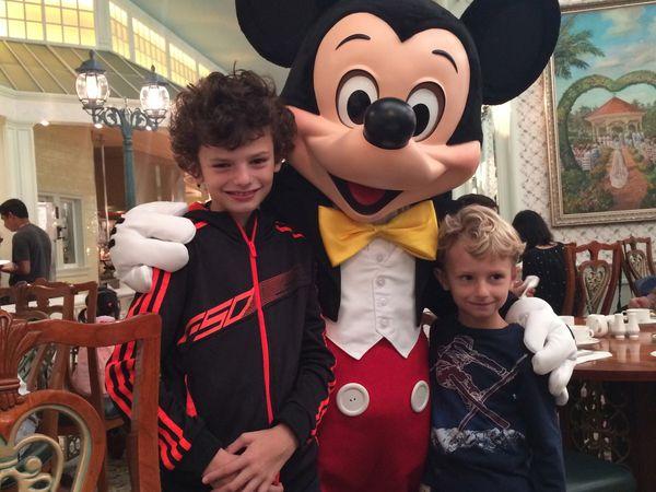 Un Weekend chez Mickey!