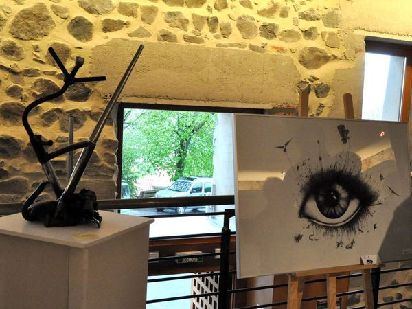 Usson expose ses artistes