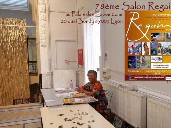 Installation du 78 ème Salon Regain- Rencontre des Arts - Flo.M