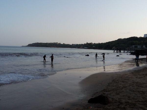 Chaleur et plage