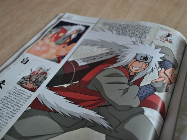 [ARRIVAGE] Character Book Naruto 10ans 100 Shinobis