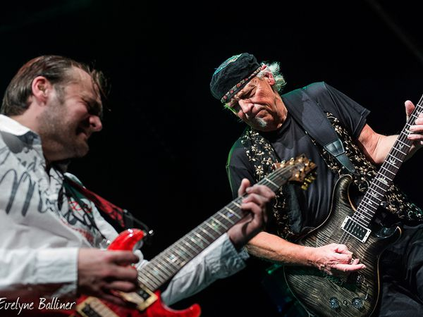 Blues de Traverse: Martin Barre et Old Battlefield Entertainer