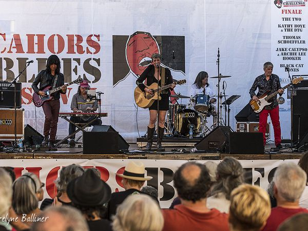 Cahors Blues Festival Gaelle Buswel et JBS original James Brown band