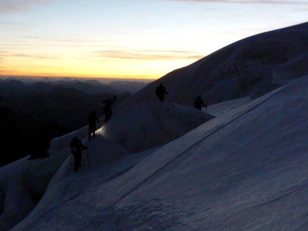 Sur le fil à 3900 m - Piz Argient- Piz Zupo - Bellavista - Piz Palu