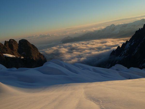 Ski de randonnée : Wetterhorn 3692 m