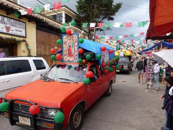 San Cristobal de Las Casas : un mélange de culture indigène et espagnole.