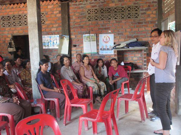 Visite sur le projet Agrisud