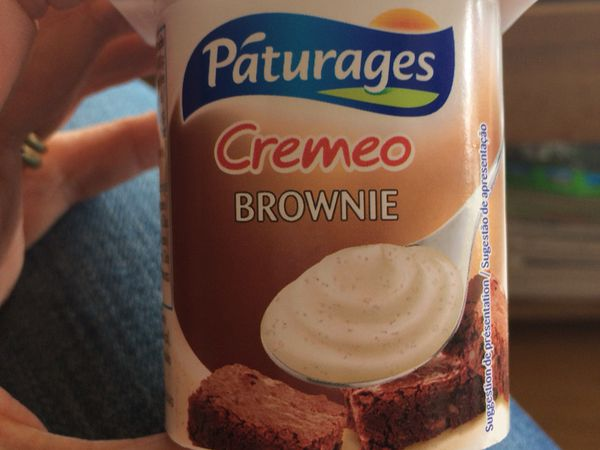 Test yaourt cremeo brownie pâturage �