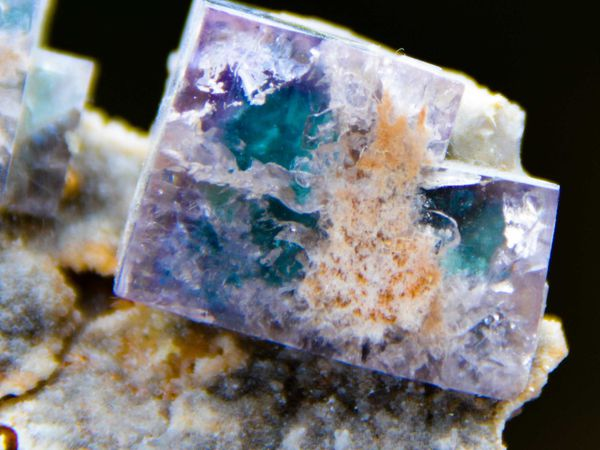 Fluorite (Fluorine) from Hollywell Mine, Frosterley, Stanhope, Durham, UK (GB) (size: Small cabinet)