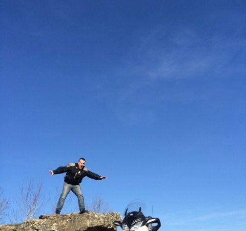 en attendant le printemps rencontre avec un dolmen
