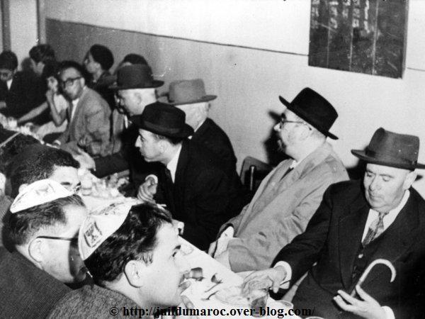 MEKNES - Bar Mitsvah Collective (3 photos) Meknès - 1960 - (Cliquez sur la photo)