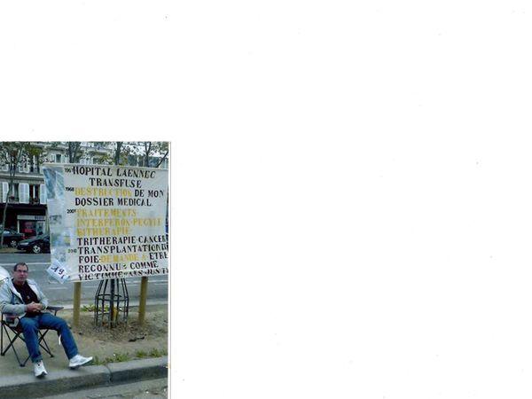 grève de la faim - paris du 12 avril au 16 mai 2014.