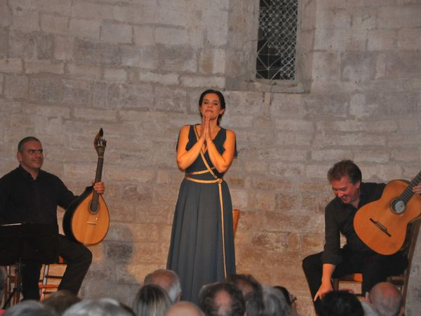 Eté 2017 à St Julien de Salinelles, concert en acoustique naturelle, sans micros ni amplis...