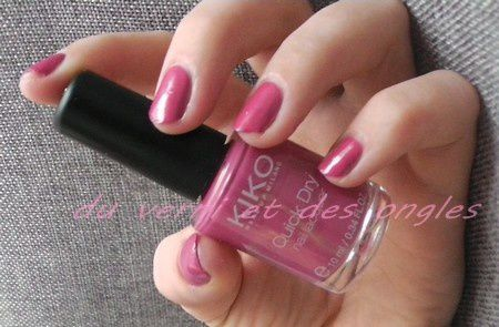 kiko quick dry - 808 pearly watermelon pink
